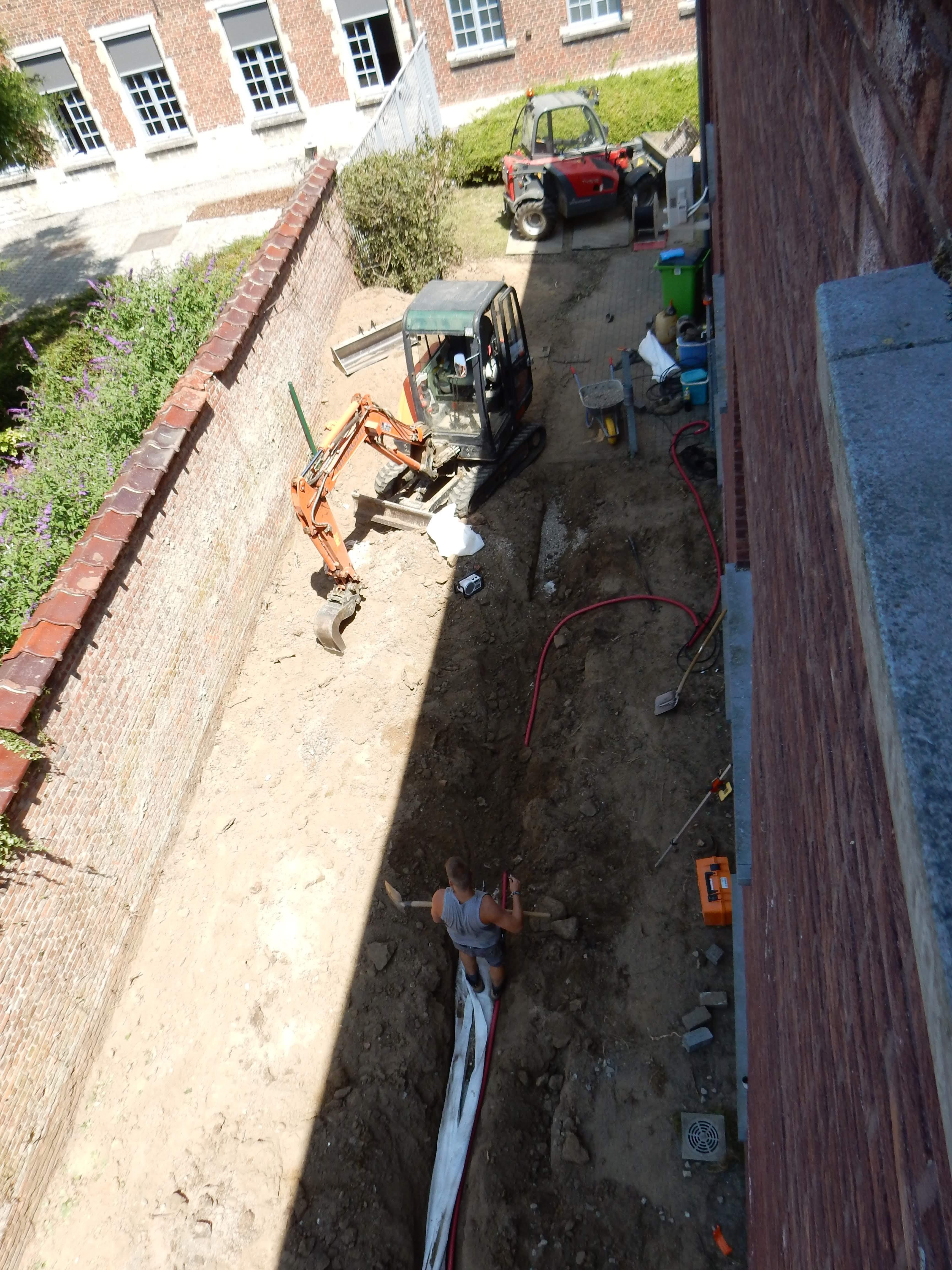 tuin BR tijdens de werken 3